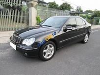 Xe Mercedes C240 đời 2004, màu đen số tự động