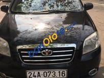 Bán ô tô Daewoo Gentra MT sản xuất năm 2009, màu đen số sàn