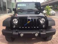 Bán Jeep Wrangler Rubicon Unlimited đời 2017, màu đen, nhập khẩu chính hãng