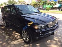 Bán BMW X5 đời 2005, màu đen, xe nhập