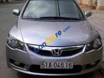 Cần bán lại xe Honda Civic AT năm sản xuất 2010, màu xám đã đi 100000 km