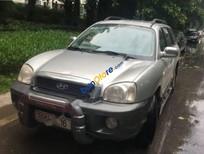 Cần bán lại xe Hyundai Santa Fe Gold sản xuất 2004, màu bạc, nhập khẩu Hàn Quốc, 285 triệu