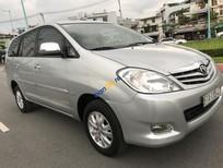Cần bán Toyota Innova G năm 2009, màu bạc số sàn