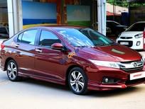 Cần bán gấp Honda City 1.5AT sản xuất 2015, màu đỏ