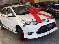 Bán ô tô Toyota Vios đời 2017, màu trắng, giá cạnh tranh