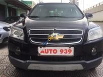 Bán xe Chevrolet Captiva LT đời 2008, màu đen, không cấn đụng, không ngập nước, gầm máy cực chất
