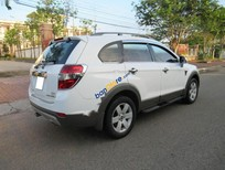 Bán Chevrolet Captiva LT đời 2007, màu trắng, xe đang sử dụng rất tốt