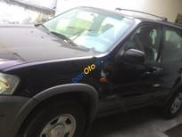 Cần bán lại xe Ford Escape 4x4MT đời 2003, màu đen số sàn, 270tr