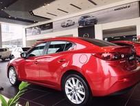 Cần bán xe Mazda 3 2017, màu đỏ, 690tr, mới 100%, hỗ trợ vay 80%
