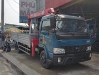 Xe tải Veam VT490 5 tấn/5T gắn cẩu 3 tấn, mua xe tải cẩu Veam 5 tấn VT490 gắn cẩu Unic 3 tấn 4 khúc