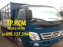 TP. HCM Thaco Ollin 700 xe 7 tấn Thaco, giá tốt thùng mui bạt tôn đen