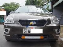 Bán xe gia đình Kia Carens SX 2.0 2013, số tự động màu nâu full option