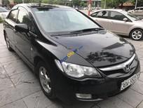 Cần bán lại xe Honda Civic 1.8 MT sản xuất năm 2008, màu đen số sàn
