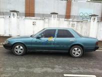 Xe Toyota Mark II đời 1995, màu xanh lam, xe nhập số tự động