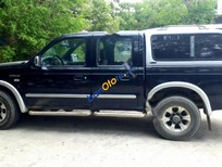 Bán Ford Ranger XTL đời 2005, màu đen, máy móc gầm bê chắc chắc chắn
