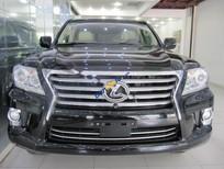 Cần bán gấp Lexus LX 570 đời 2012, màu đen, máy móc nguyên bản, xe không tai nạn, ngập nước