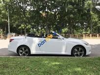 Bán xe Lexus IS 250C sản xuất 2009, màu trắng, xe gia đình sử dụng