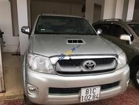 Cần bán gấp Toyota Hilux 3.0G 4x4 MT năm 2009, màu bạc, nhập khẩu