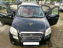 Cần bán lại xe Daewoo Gentra sản xuất 2008, màu đen