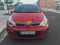 Bán xe Kia Rio AT đời 2012, màu đỏ