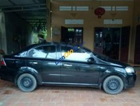 Bán xe Daewoo Gentra SX đời 2008, màu đen, giá chỉ 185 triệu