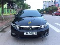 Bán Honda Civic MT đời 2012, màu đen, rất tiết kiệm xăng