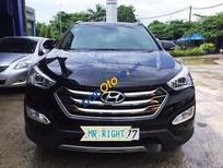 Cần bán Hyundai Santa Fe CRDi đời 2015, màu đen như mới