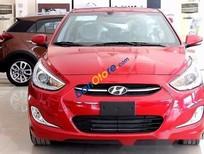 Bán xe Hyundai Accent 1.4 sản xuất 2016, màu đỏ