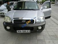 Bán Hyundai Santa Fe sản xuất 2004, màu bạc, xe chất, keo chỉ zin