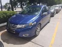 Cần bán lại xe Honda City AT đời 2010, màu xanh lam, nhập khẩu, vận hành an toàn