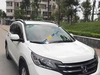 Bán ô tô Honda CR V 2.0AT đời 2013, màu trắng