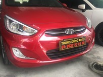 Bán xe acent sx 2015 màu đỏ
