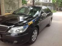 Bán xe Toyota Camry 2.4 đời 2005, màu đen chính chủ, giá 435tr
