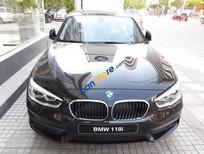 Bán BMW 1 Series 118i đời 2017, màu nâu (Sparkling Brown), nhập khẩu chính hãng