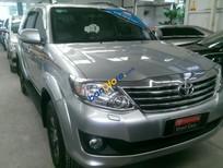 Bán Toyota Fortuner V 4x4 2012, màu bạc, hỗ trợ vay 70%, lãi suất ưu đãi