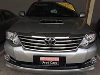 Cần bán Toyota Fortuner G 2015, máy dầu, số sàn, màu bạc giá cạnh tranh
