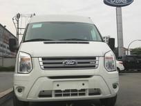Cần bán Ford Transit SVp 2018, màu trắng, giá tốt hỗ trpwj trả góp giao xe toàn quốc