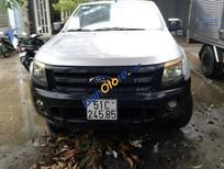 Bán Ford Ranger MT 2012, màu bạc, xe sử dụng số sàn, đã đi 130000 km