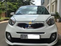 Bán xe cũ Kia Morning 1.25 Si AT bản full, màu trắng, xe gia đình sử dụng kỹ bảo dưỡng định kỳ
