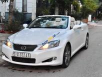 Bán xe cũ Lexus IS 250C đời 2009, màu trắng, xe chạy cực êm và tiết kiệm xăng 7lít/ 100km