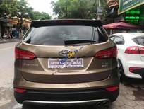 Bán xe Hyundai Santa Fe CRDi sản xuất 2015, màu nâu