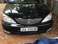 Bán Toyota Camry LE đời 2004, màu đen, nhập khẩu chính hãng