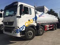 Bán các loại xe téc chở xăng dầu