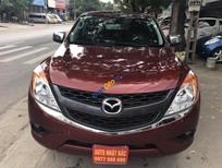 Cần bán xe Mazda BT 50 sản xuất năm 2014, màu đỏ, xe nhập số sàn