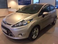 Cần bán Ford Fiesta S 1.6 AT năm 2013, màu ghi vàng