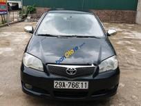 Bán Toyota Vios 1.5G đời 2007, màu đen, giá chỉ 250 triệu