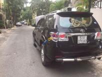 Bán Toyota Fortuner đời 2012, màu đen