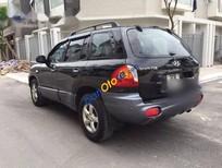 Bán ô tô Hyundai Santa Fe Gold đời 2008, màu đen số tự động, giá tốt