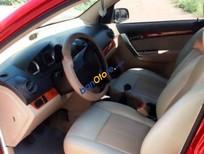 Bán Chevrolet Aveo đời 2012, màu đỏ xe gia đình
