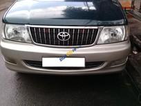 Gia đình cần bán xe Toyota Zace 7 chỗ đời 2004, màu xanh, xe còn nguyên zin